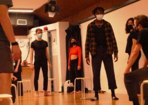 Parets de vidre, nuevo taller de creación, escuela de teatro, el timbal